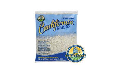 New Caulifornia Snow Riced Cauliflower