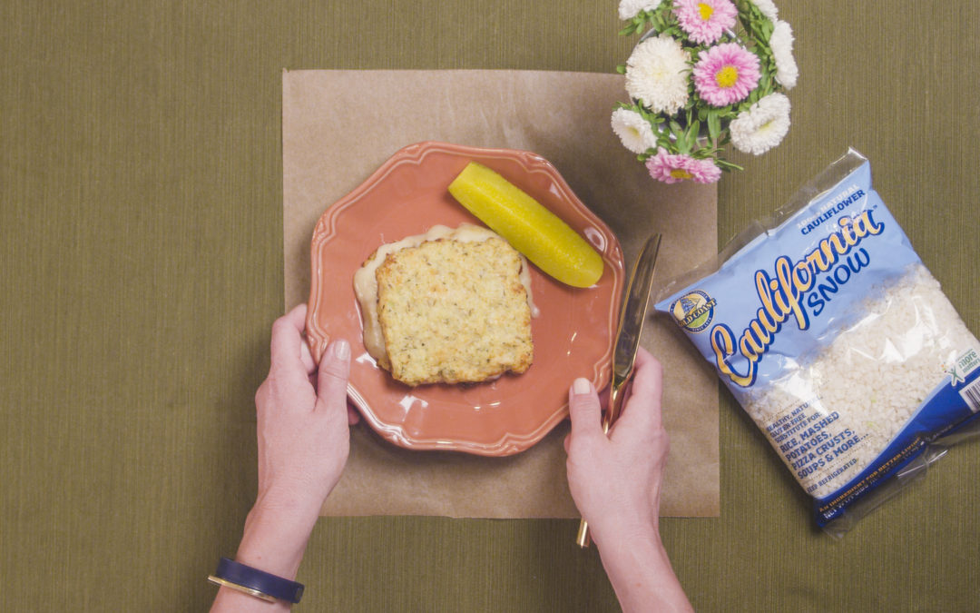 Oh Wonderful Cauliflower… Grilled Cheese!