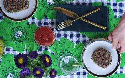 A Millennial's Grilled Broccoli Burger