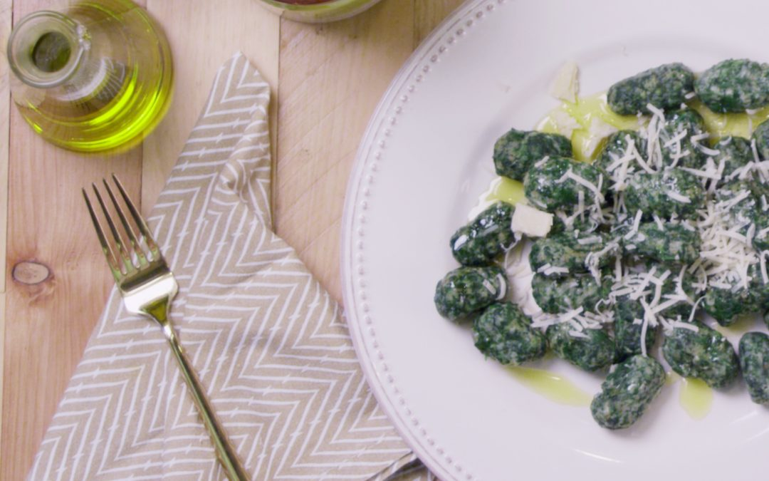Eat Your Spinach… Gnocchi