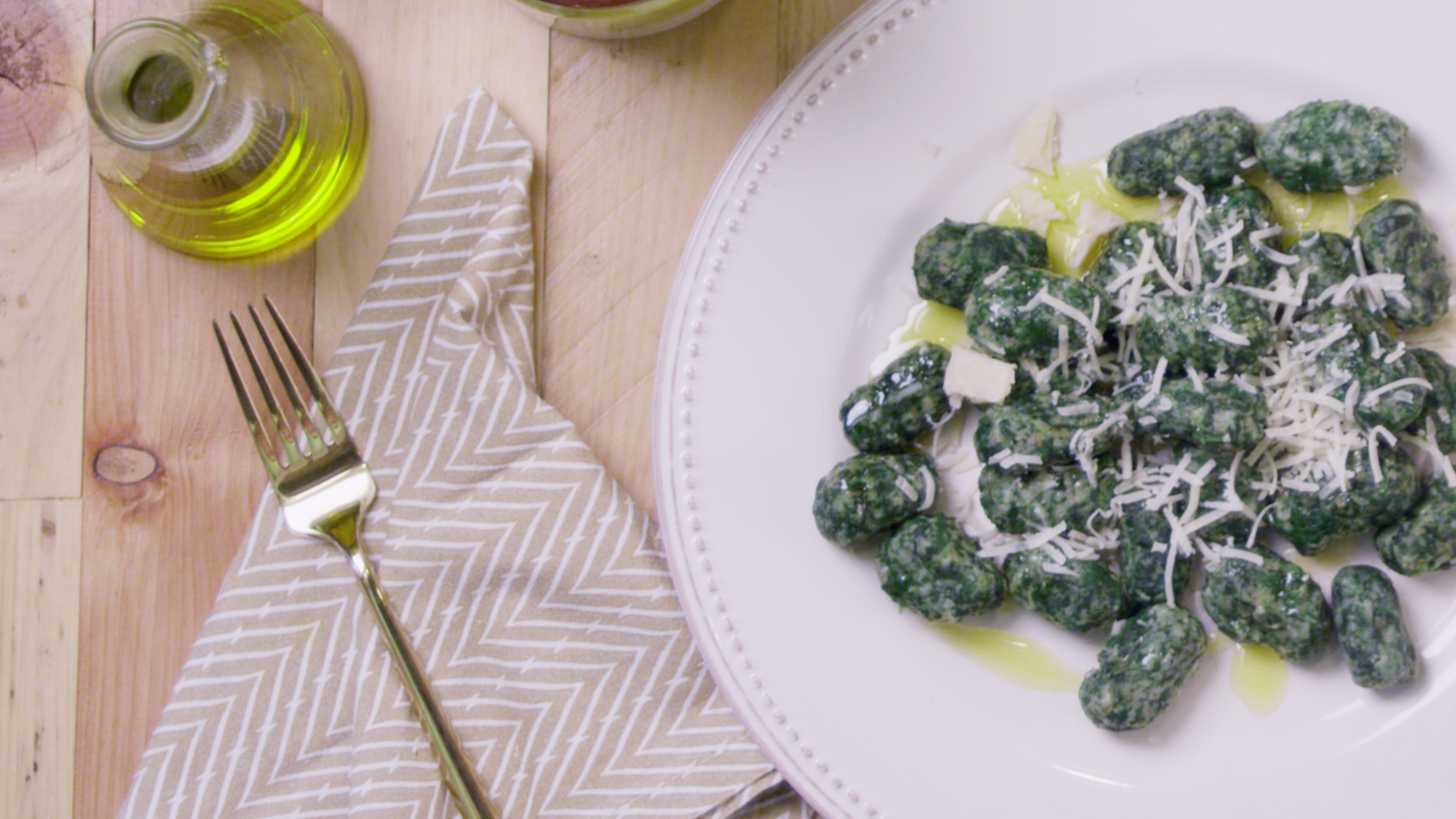 Eat Your Spinach... Gnocchi