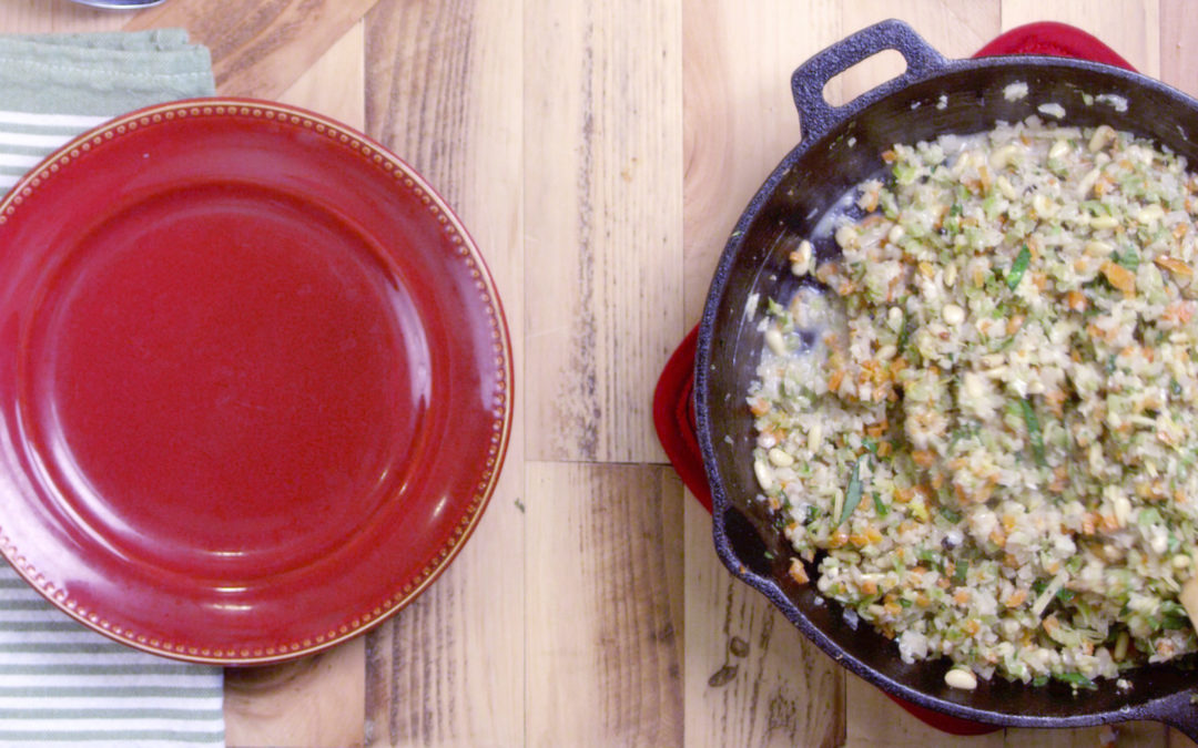 Your Holiday Veggie Risotto
