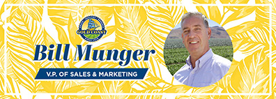 Bill Munger Joins Gold Coast Packing as V.P. of Sales & Marketing