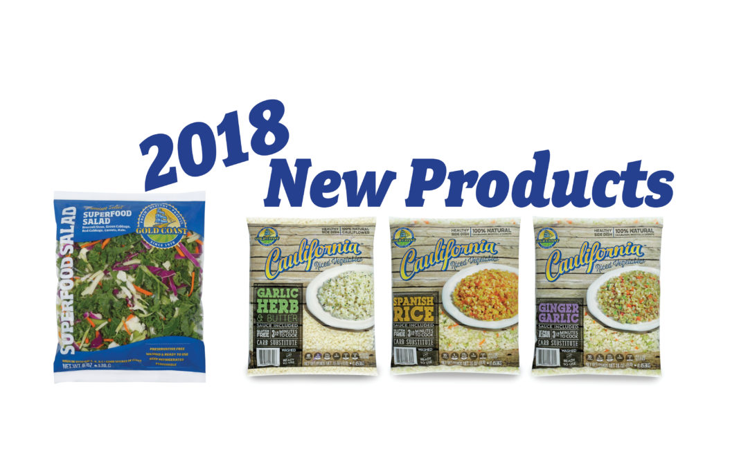 A Look Back at 2018: New Products